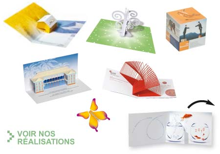 Carte de voeux 3d pop up - Carte de voeux pop up ...